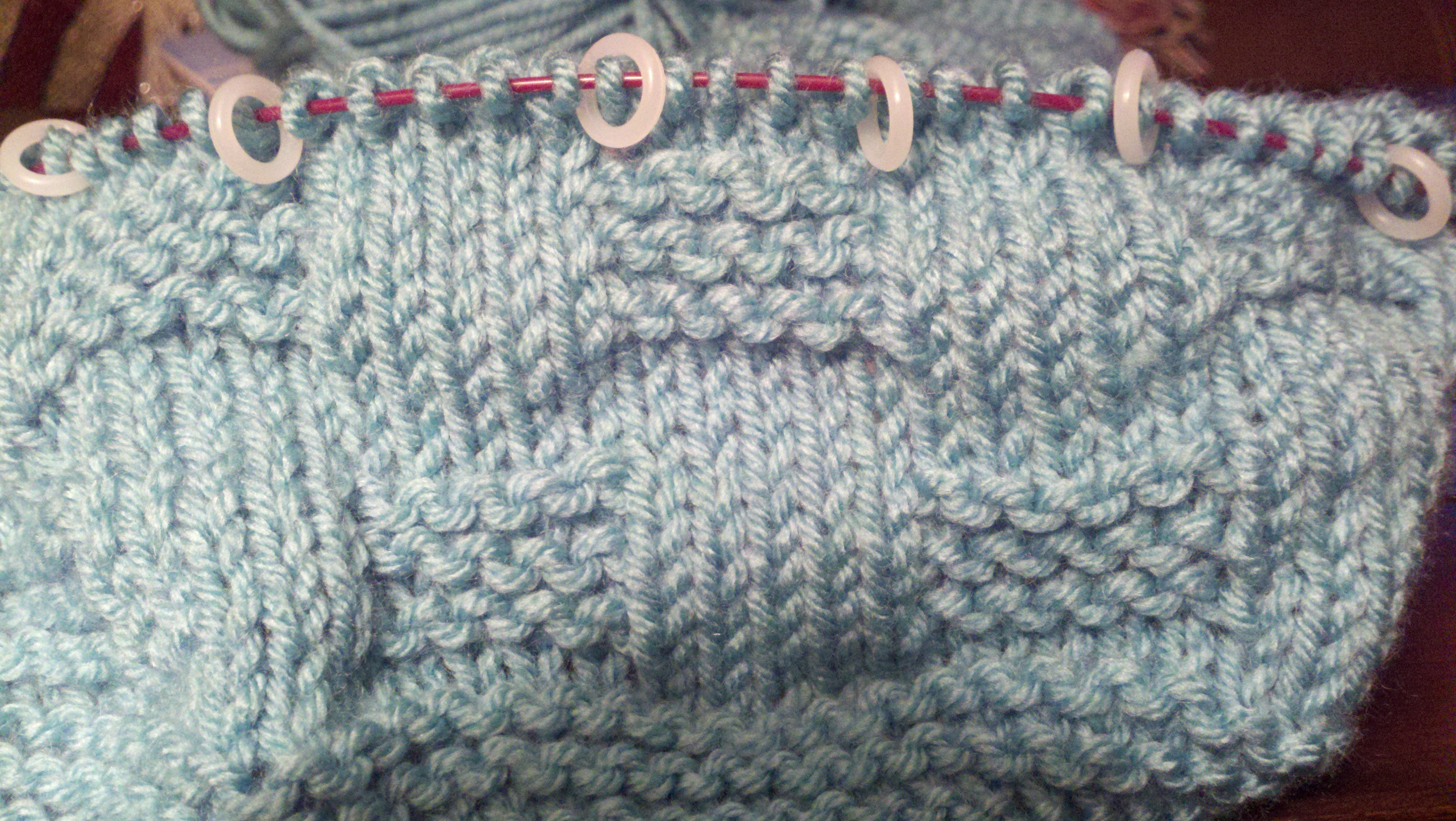 Knitting Patterns For A Baby Blanket : knit baby blanket pattern writeknit