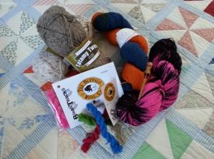 Fun yarn from Stitches