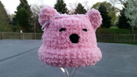 NICU spring challenge Pink Polar Bear 4.26.15
