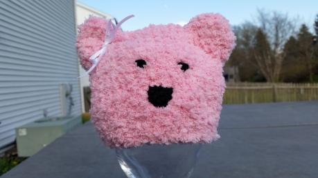 NICU spring challenge Pink Polar Bear 4.29.15