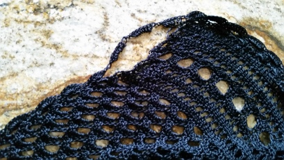 Barb's sweater before