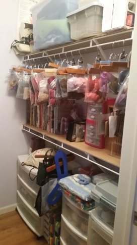 sewing room 1 after