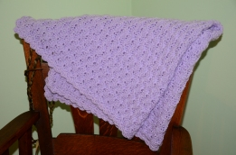 Purple blanket