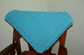 teal blanket
