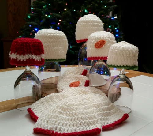 NICU hats Christmas 2015