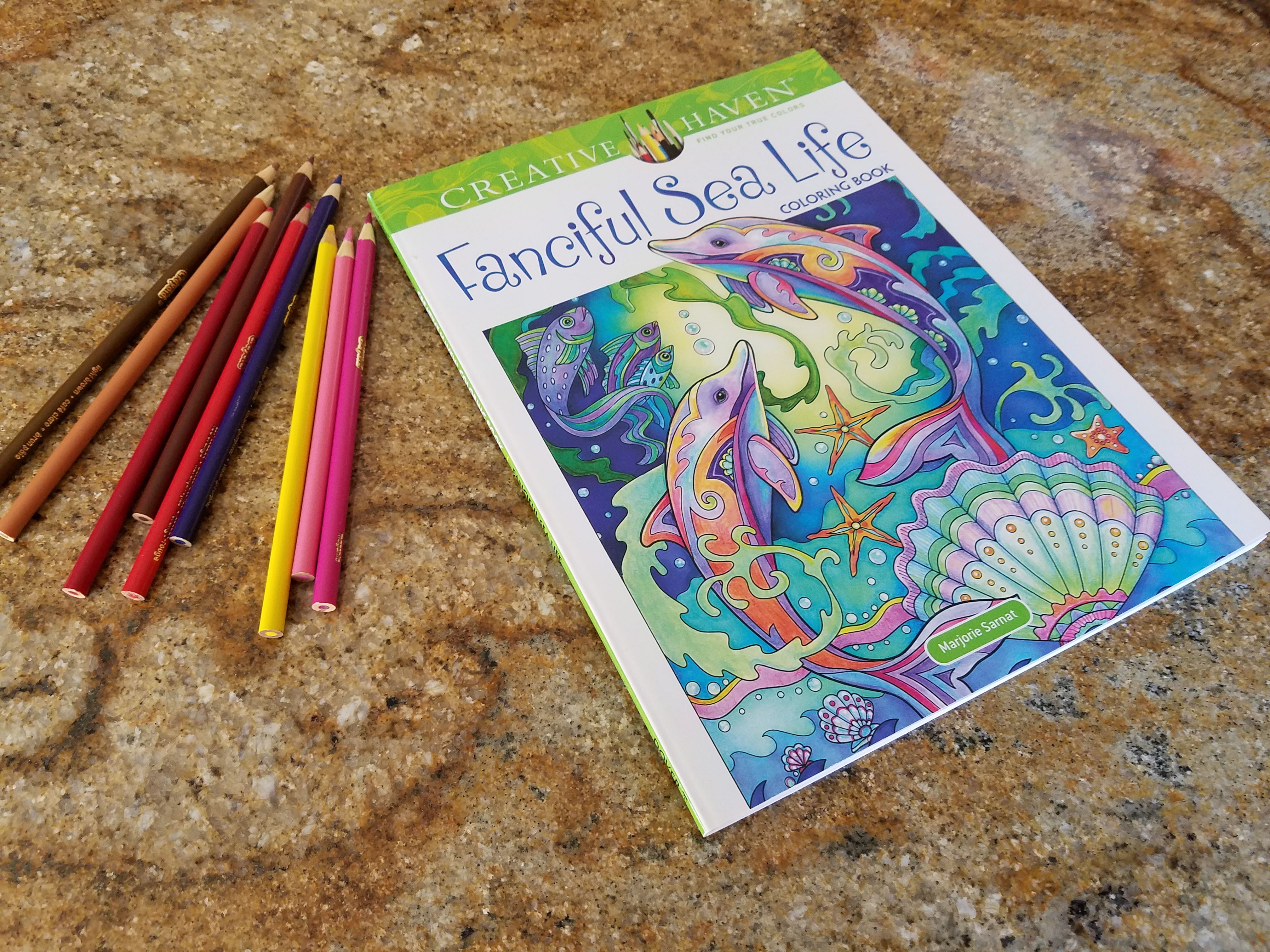Book Review And Giveaway Creative Haven Fanciful Sea Life Coloring